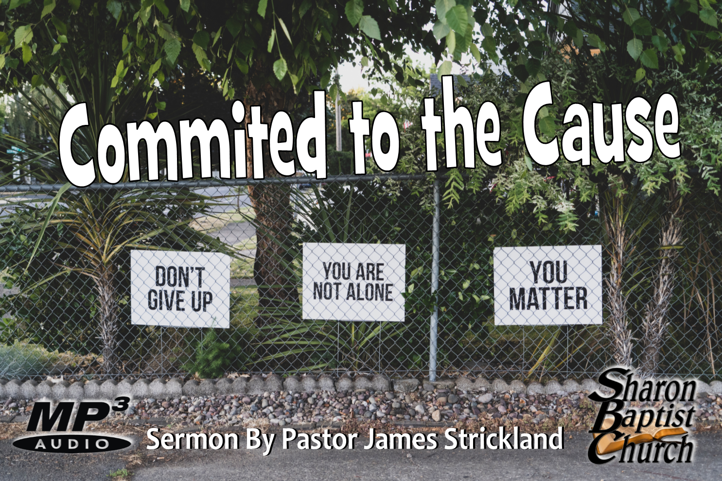 Committed to the Cause 9-8-19 SERMON Audio MP3
