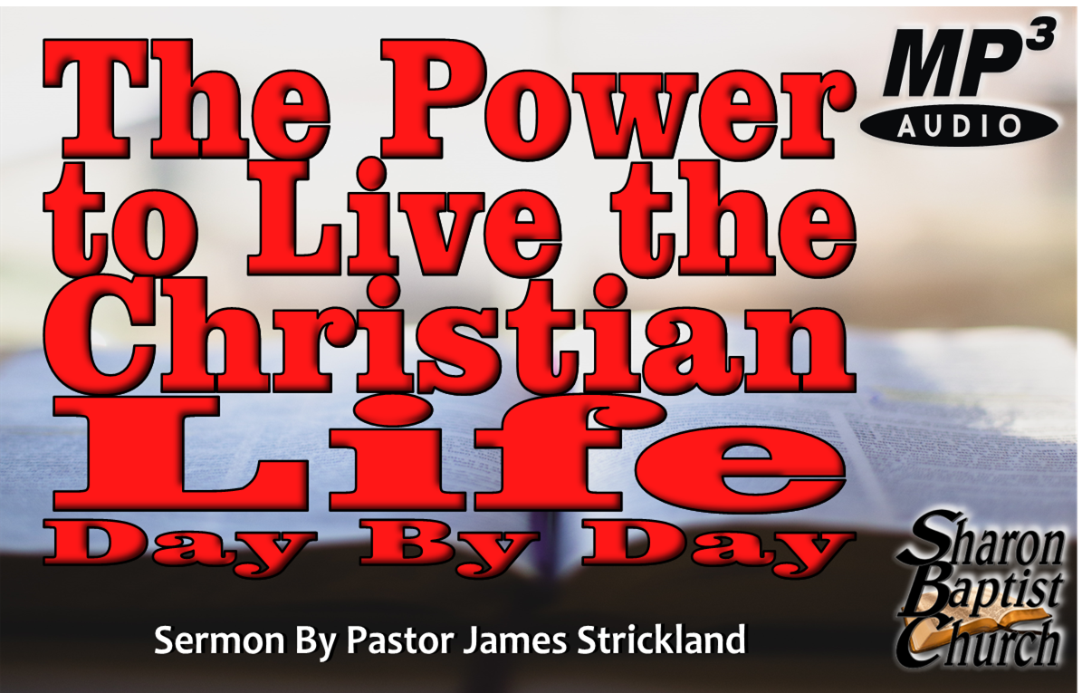 The Power to Live the Christian Life Day by Day Art Cover AUDIO