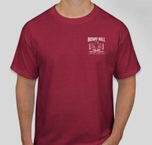 Bushy Hill Trail Crew T Shirt