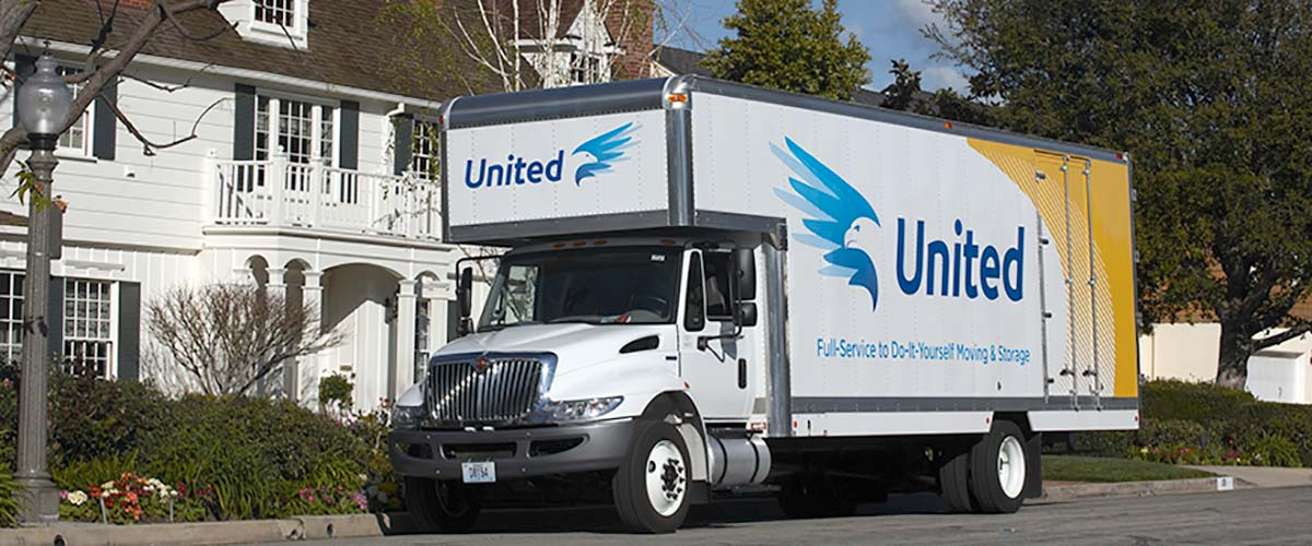 Residential moving truck