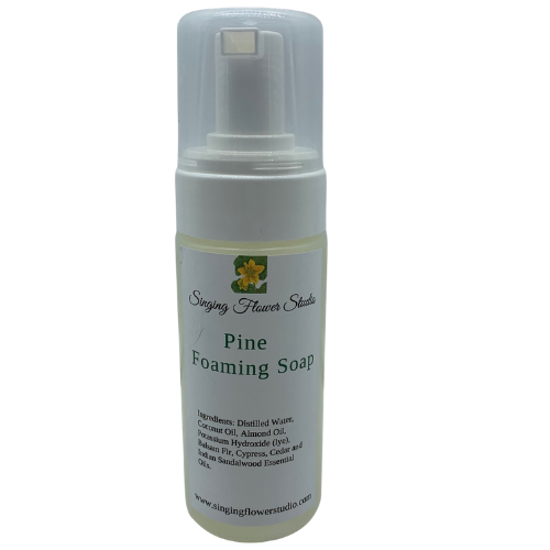 pine foaming soap closed