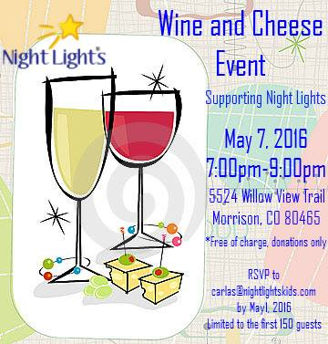Night Lights Event: Wine And Cheese Fundraiser