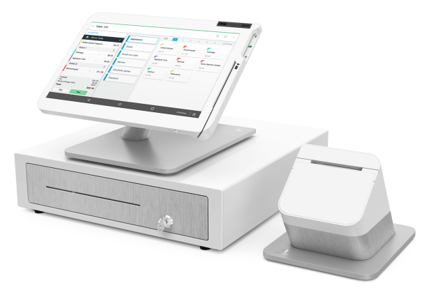 Clover Station POS main page