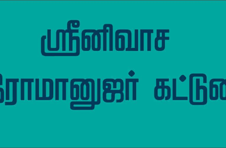 ஸ்ரீநிவாச இராமானுஜர்