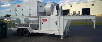 grey blasting equipment system