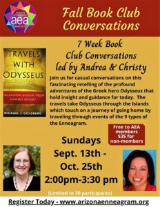 Fall Book Club Conversations-Travels with Odysseus @ Online Event
