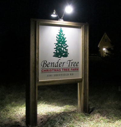 Bender Tree Sign