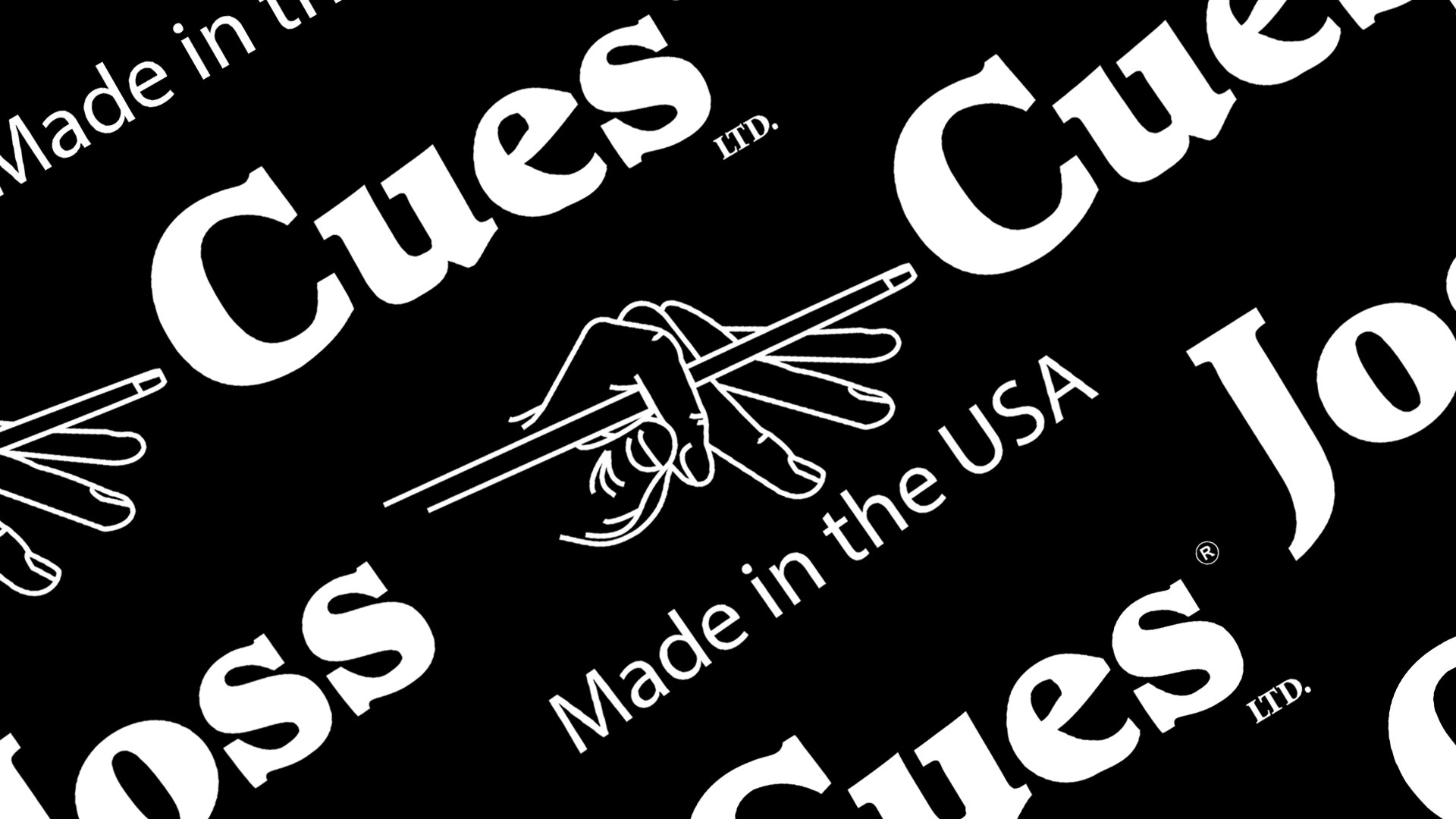 image Joss cues made in the USA