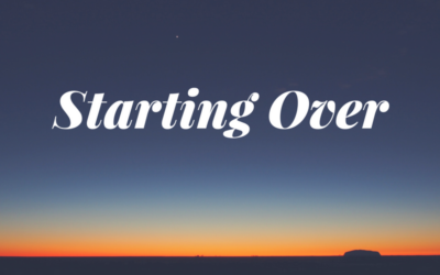 Starting Over – Transition