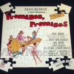 "Broadway - ""Promises, Promises"" Album Cover Jigsaw Puzzle"