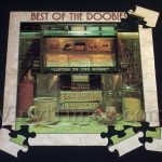 """Doobie Brothers """"The Best Of The Doobies"""" Album Cover Jigsaw Puzzle Front"""
