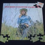 "Various Artists ""Pop Hits Country Flavored"" Album Cover Jigsaw Puzzle"