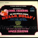 "Broadway - ""Hello Dolly"" Vinyl LP Record Album gatefold cover"