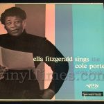 "Ella Fitzgerald - ""Sings The Cole Porter Song Book"" Vinyl LP Record Album gatefold cover"