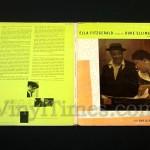 "Ella Fitzgerald - ""Sings The Duke Ellington Songbook"" Vinyl LP Record Album gatefold cover"