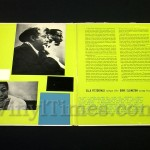"Ella Fitzgerald - ""Sings The Duke Ellington Songbook"" Vinyl LP Record Album gatefold cover inside"