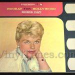 "Doris Day - ""Hooray For Hollywood"" Vinyl LP Record Album gatefold cover"