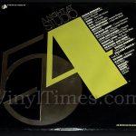 "Various - ""A Night At Studio 54"" Vinyl LP Record Album gatefold cover"