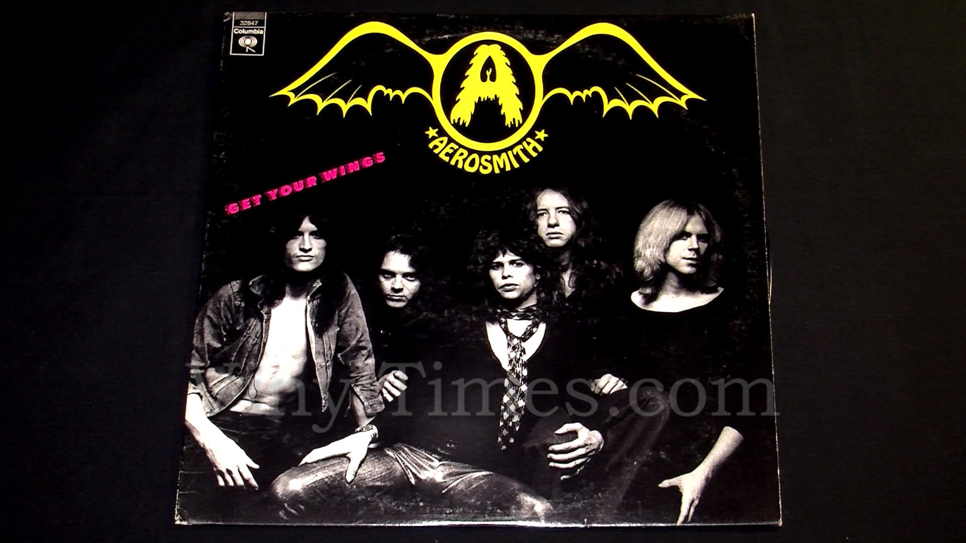 "Aerosmith - ""Get Your Wings"" Vinyl LP Record Album"
