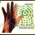"""Genesis - """"Invisible Touch"""" Vinyl LP Record Album"""