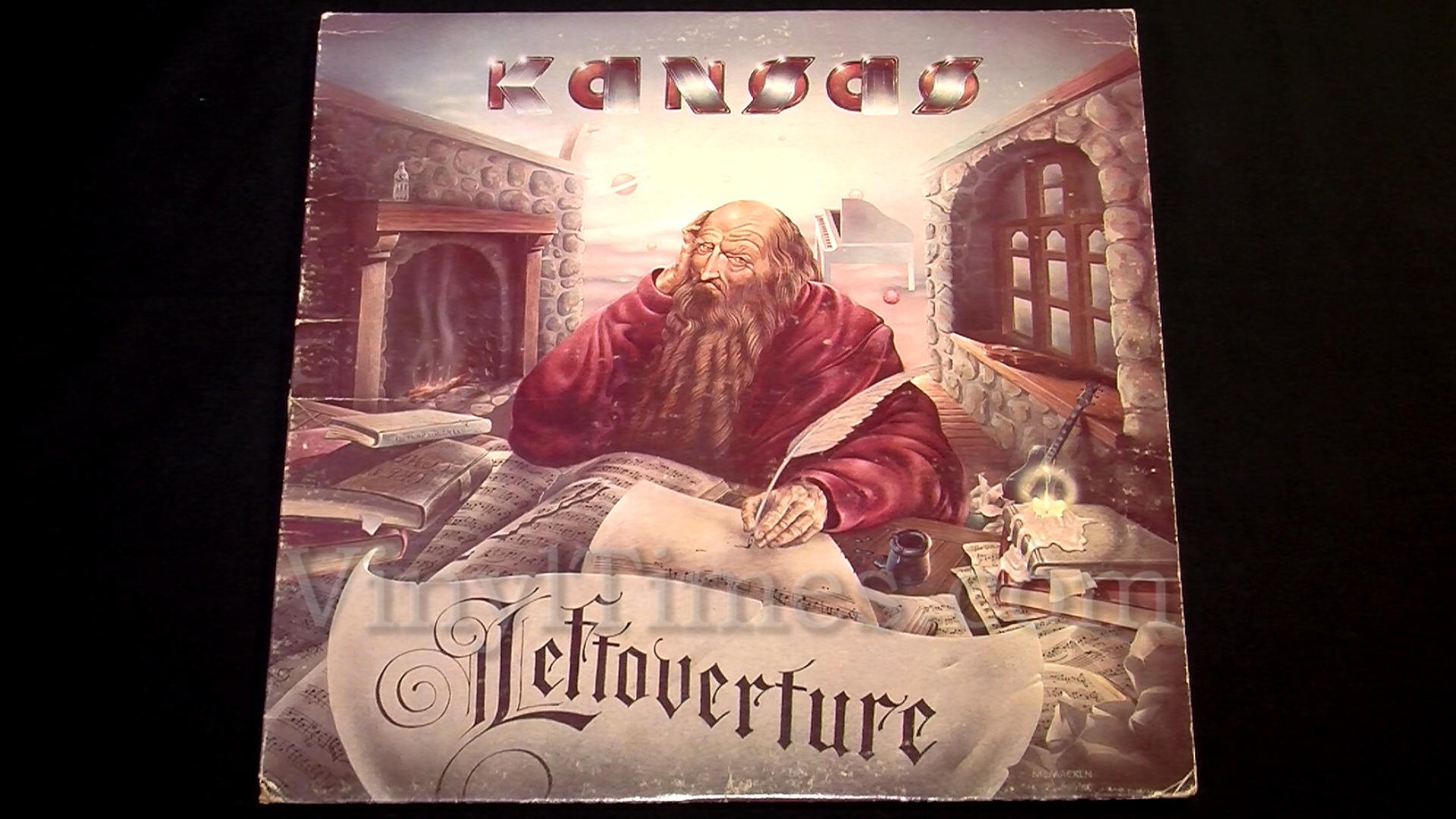 Kansas - Leftoverture (1977, Vinyl)   Discogs