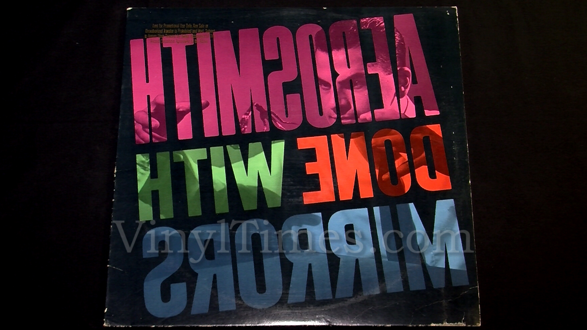 """Aerosmith - """"Done With Mirrors"""" Vinyl LP Record Album"""