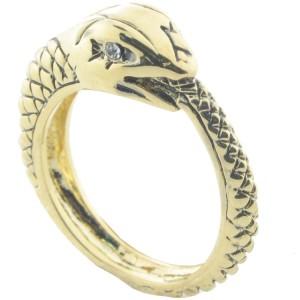 Textured Snake Ring