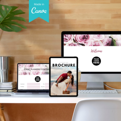 client welcome package floral hue