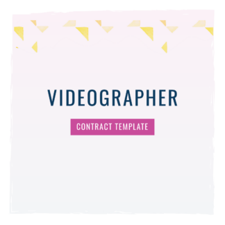 videographer contract template