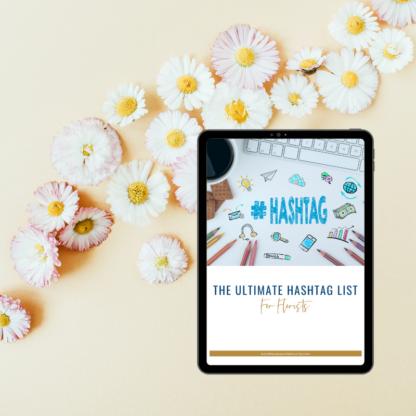wedding florists hashtags list