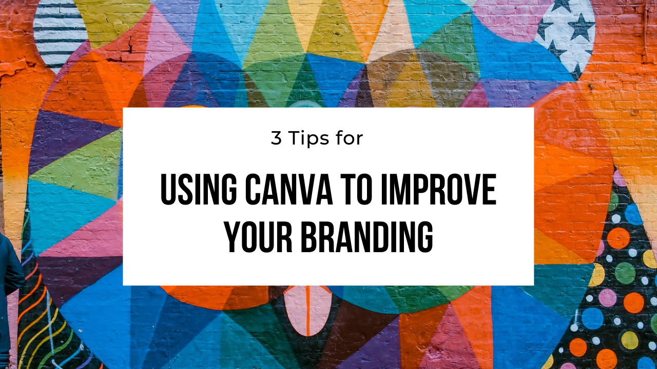 using canva for your branding