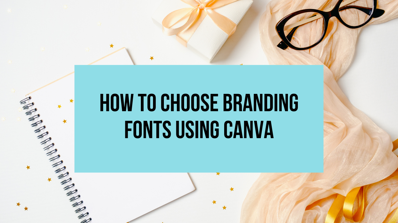 canva branding fonts