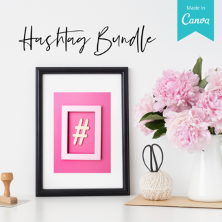 hashtag bundle for wedding pros