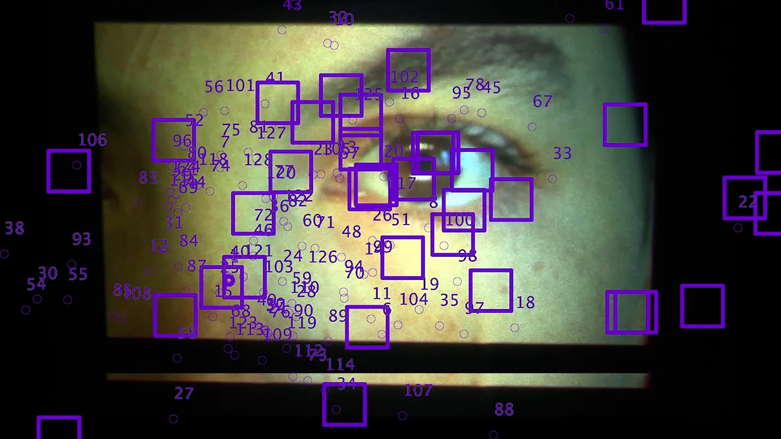 Still image from semi transparent video