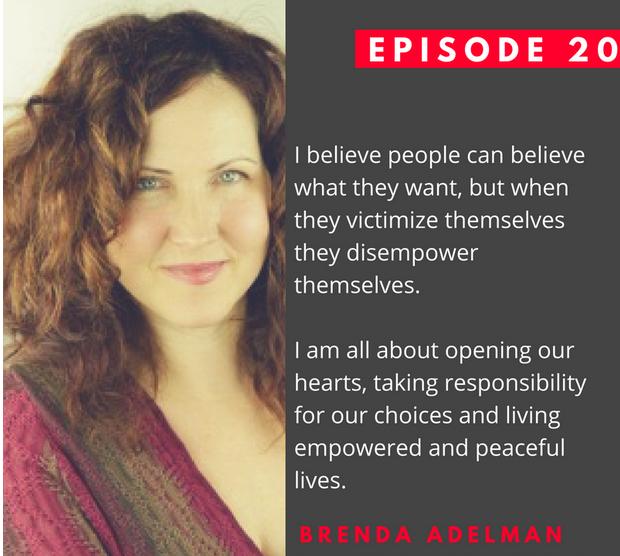 """Uncomfortable Conversations"""" Lisa Schmidt interviews Brenda Adelman"""