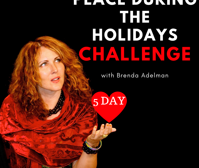 5 Day FREE Peace During the Holidays Challenge