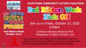 Red Ribbon Week Kick Off @ Veterans Memorial Park