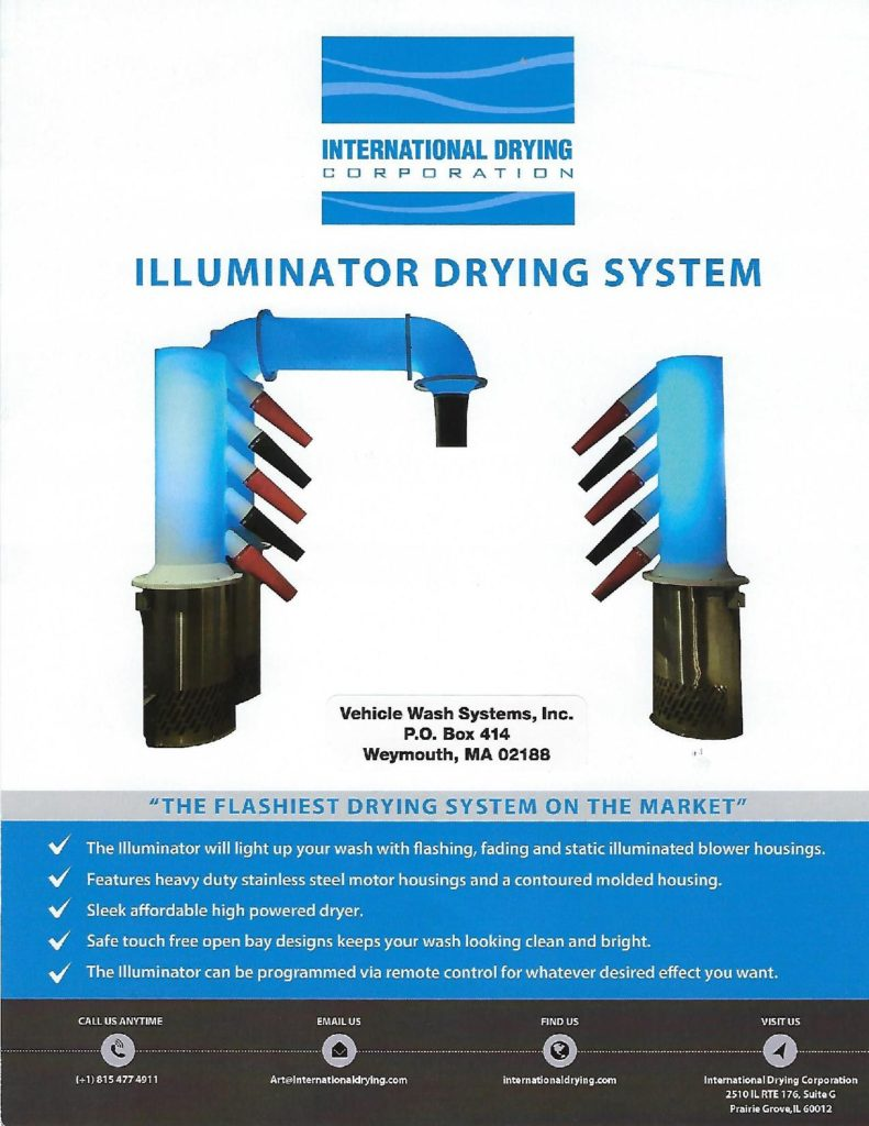 illuminator dryer