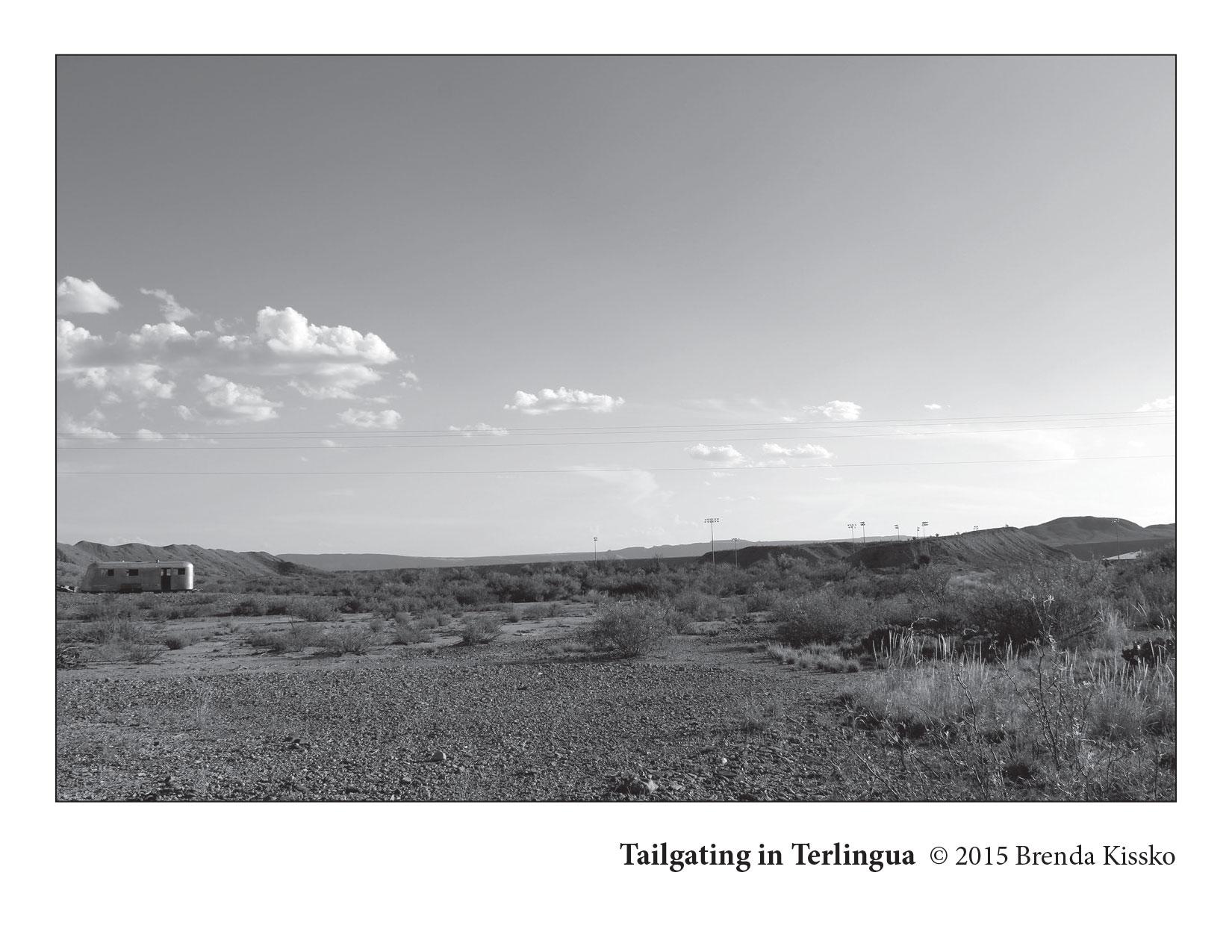 Tailgating in Terlingua