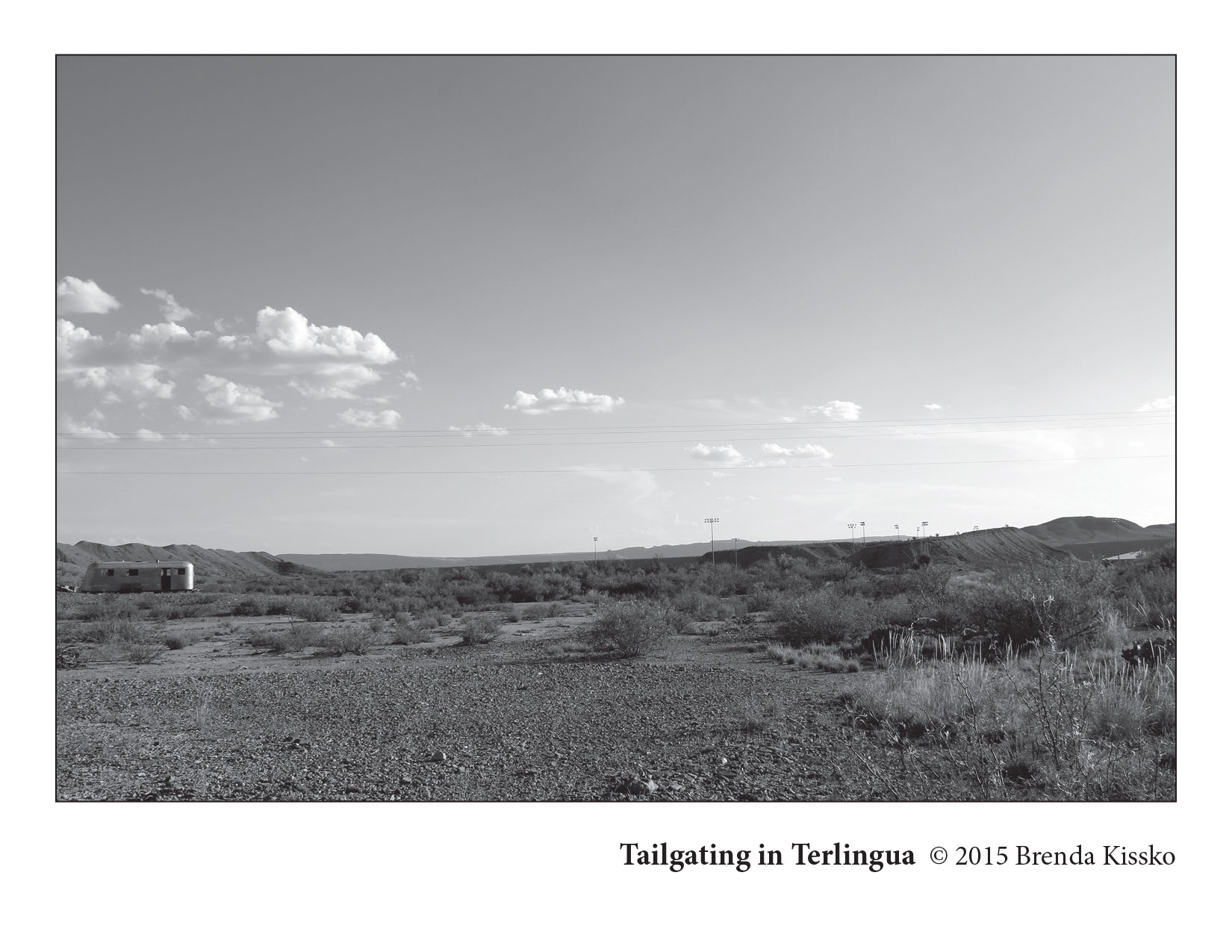 Tailgating in Terlingua