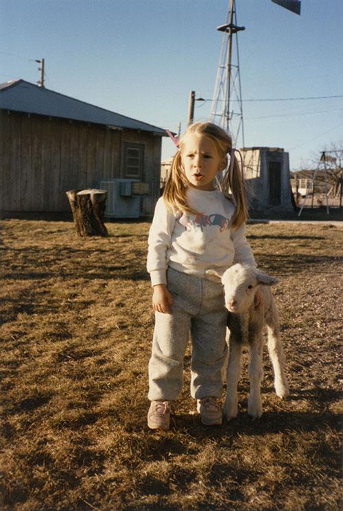 Brenda & lamb