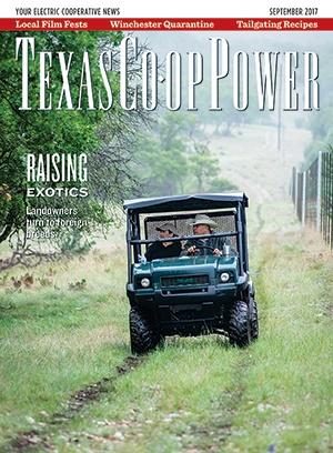 Texas Co-op Power Sept 2017 Cover