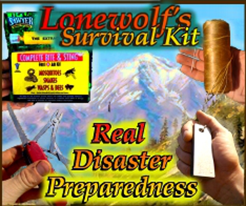 Lonewolf's Survival Kit ad