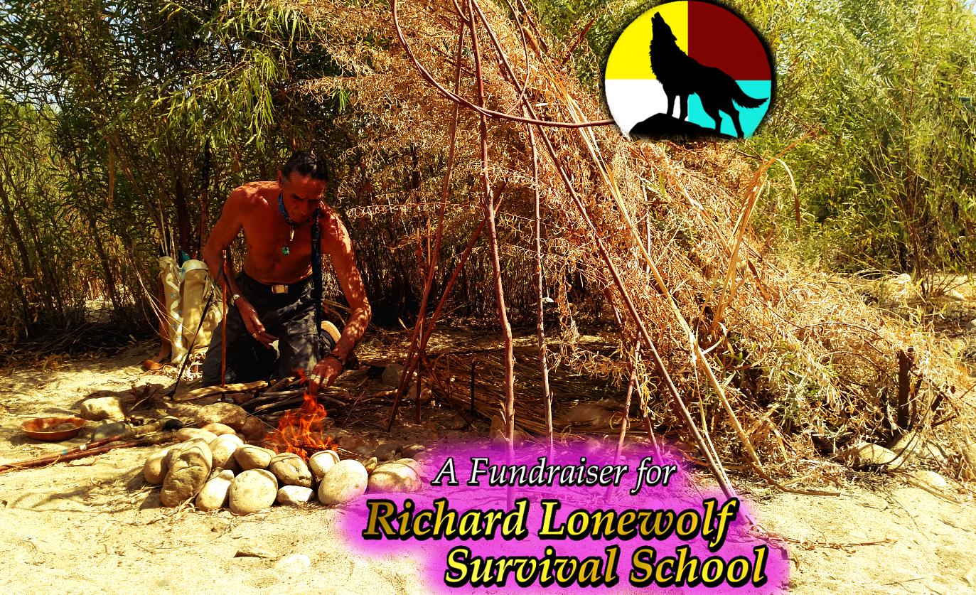 Lonewolf w Fire fundraiser