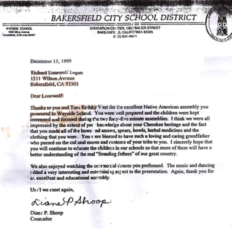 Bakersfield school letter bigger