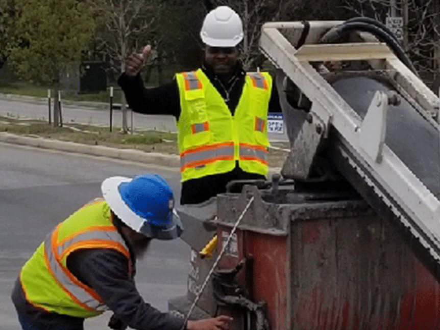 Darnell Sutton Microtrenching in San Antonia