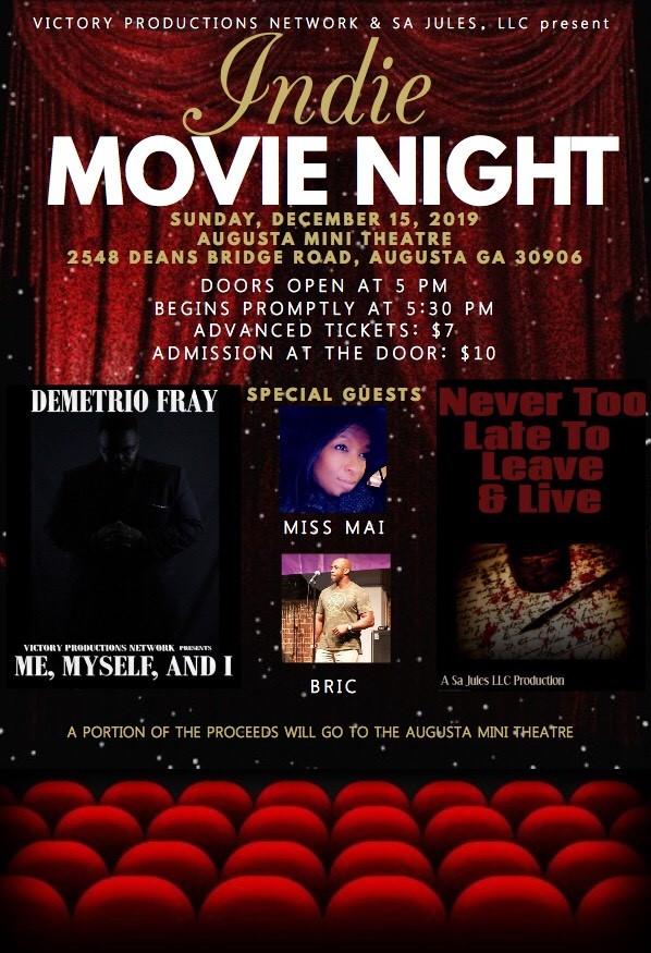 Indie Movie Night 12.15.19