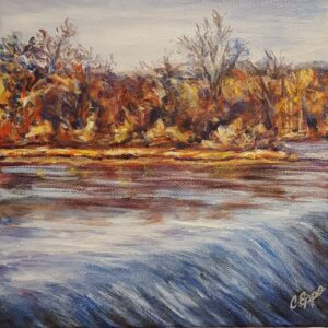 Cyndy Epps painting Falls