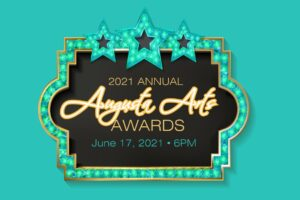 image with Annual Arts Awards night logo and information