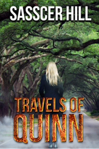 book cover travels of quinn by sasscer hill